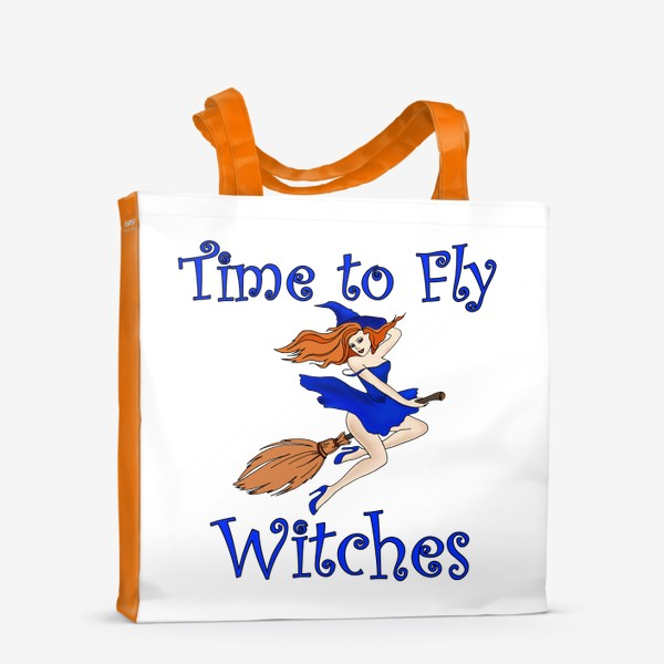 Сумка-шоппер «Ведьма. Хэллоуин. Магия. Волшебство»