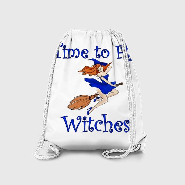 Рюкзак «Ведьма. Хэллоуин. Магия. Волшебство»