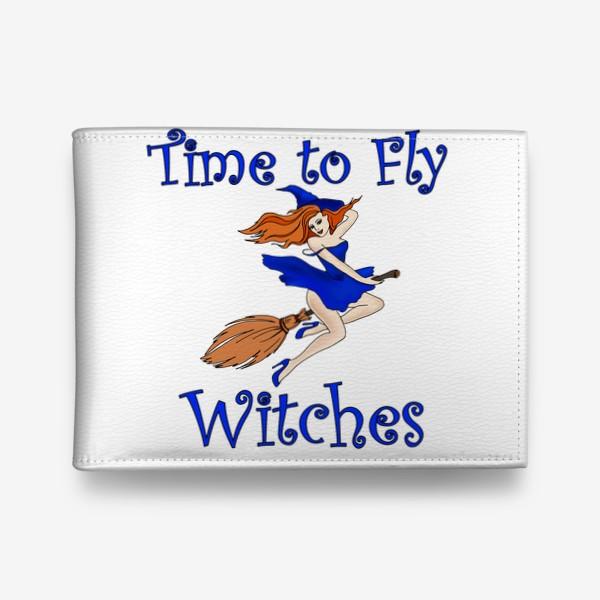 Кошелек «Ведьма. Хэллоуин. Магия. Волшебство»