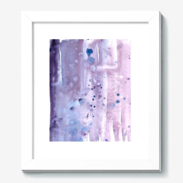 Картина «Абстрактный фон в лавандовых тонах»