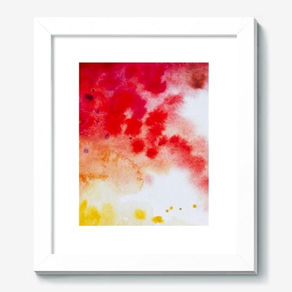 Картина «Акварель в осенних тонах»