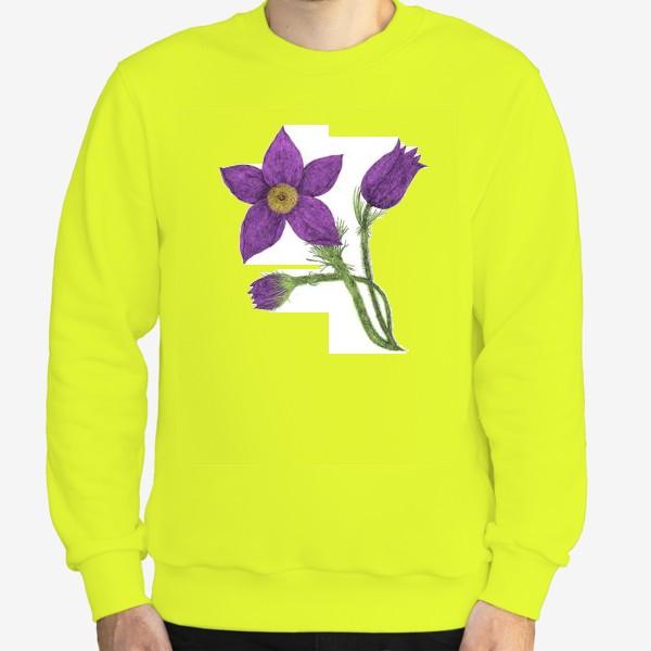 Свитшот «Весенний цветок»