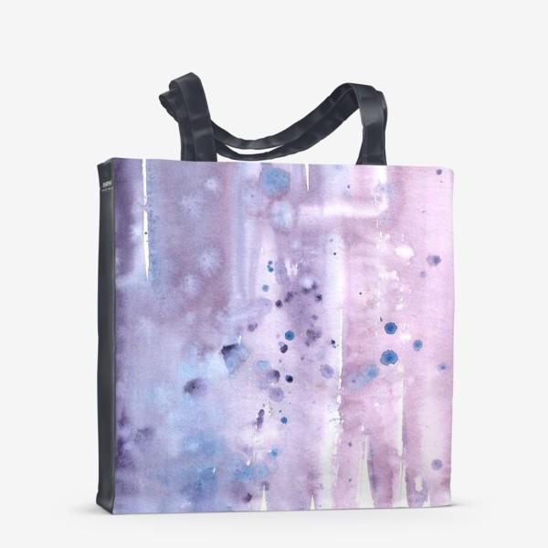 Сумка-шоппер «Абстрактный фон в лавандовых тонах»