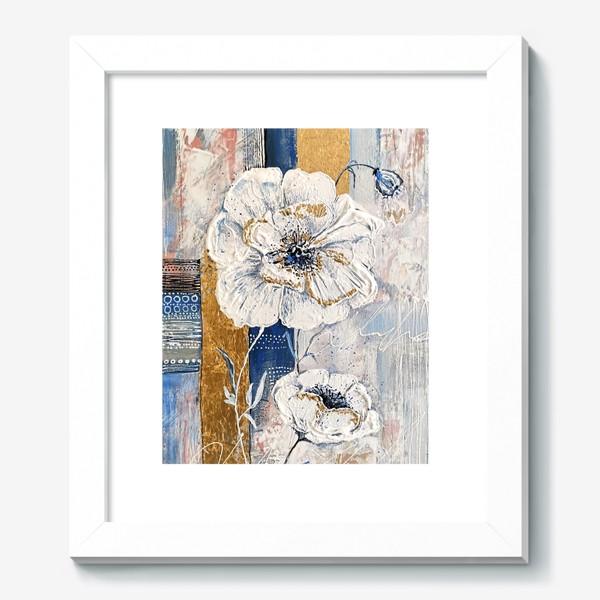 Картина «Живописные цветы»