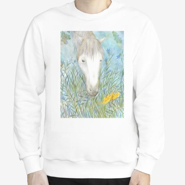 Свитшот «Белая лошадь»