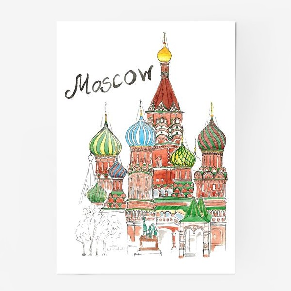 Постер «Moscow»