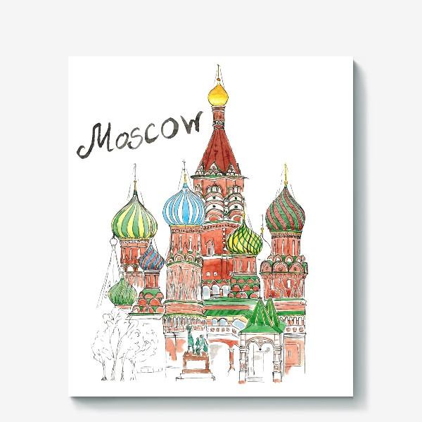 Холст «Moscow»