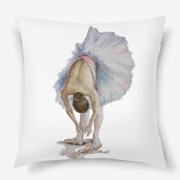Подушка «Танцуй. Балерина в пачке »