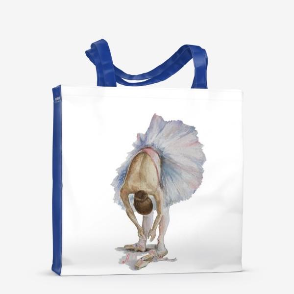 Сумка-шоппер «Танцуй. Балерина в пачке »