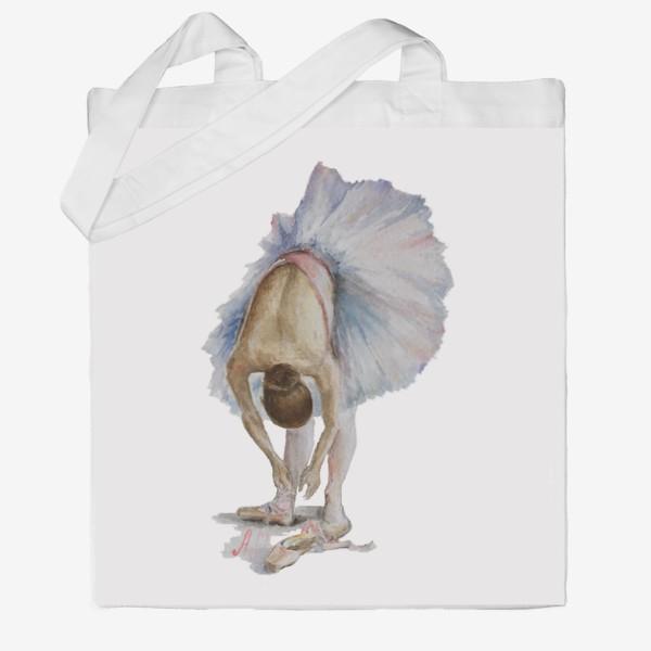 Сумка хб «Танцуй. Балерина в пачке »