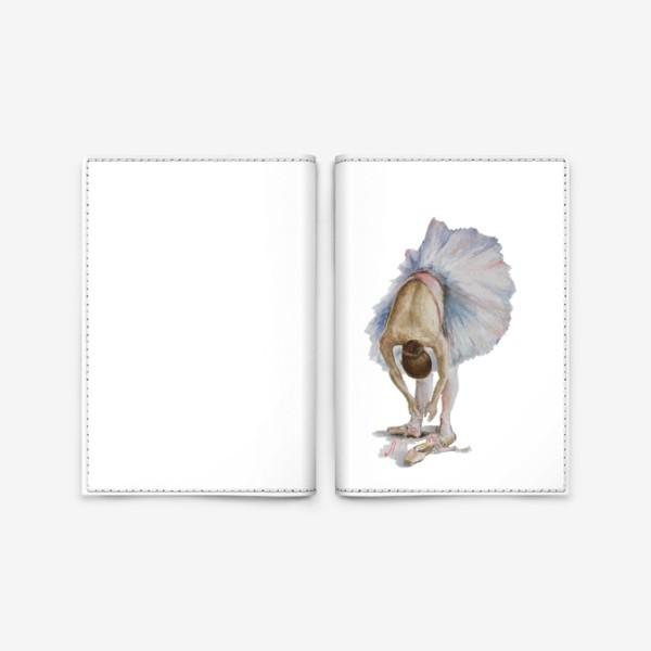 Обложка для паспорта «Танцуй. Балерина в пачке »
