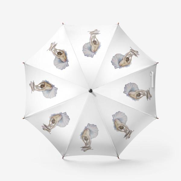 Зонт «Танцуй. Балерина в пачке »
