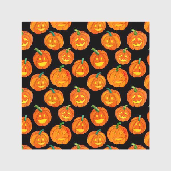 Скатерть «Паттерн хеллоуиновские тыквы»