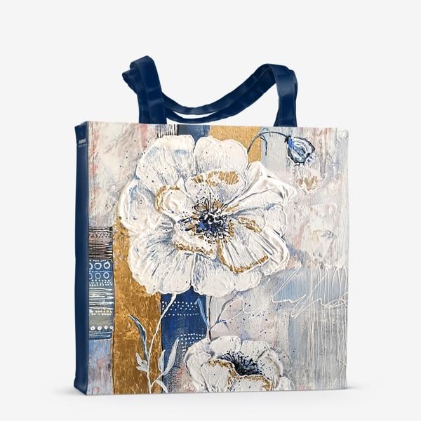 Сумка-шоппер «Живописные цветы»