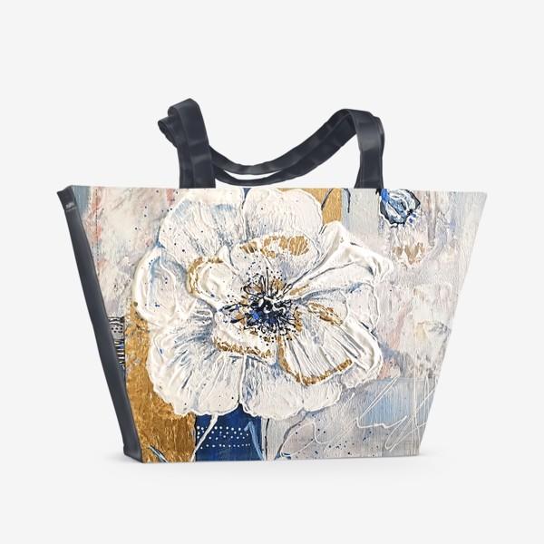 Пляжная сумка «Живописные цветы»