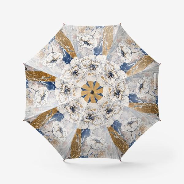 Зонт «Живописные цветы»