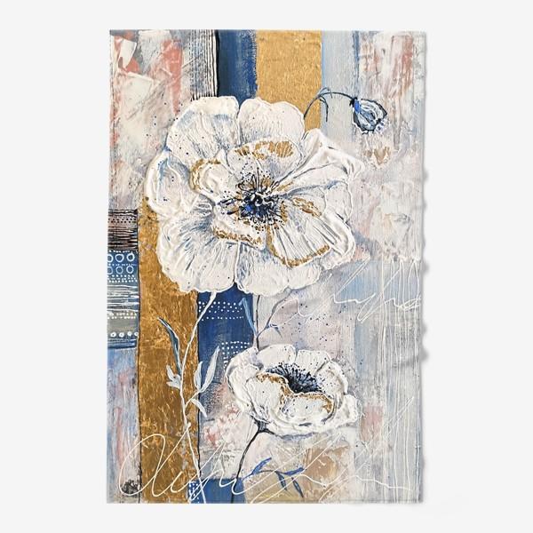 Полотенце «Живописные цветы»
