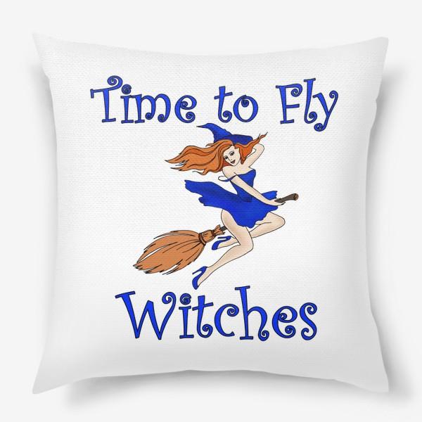 Подушка «Ведьма. Хэллоуин. Магия. Волшебство»