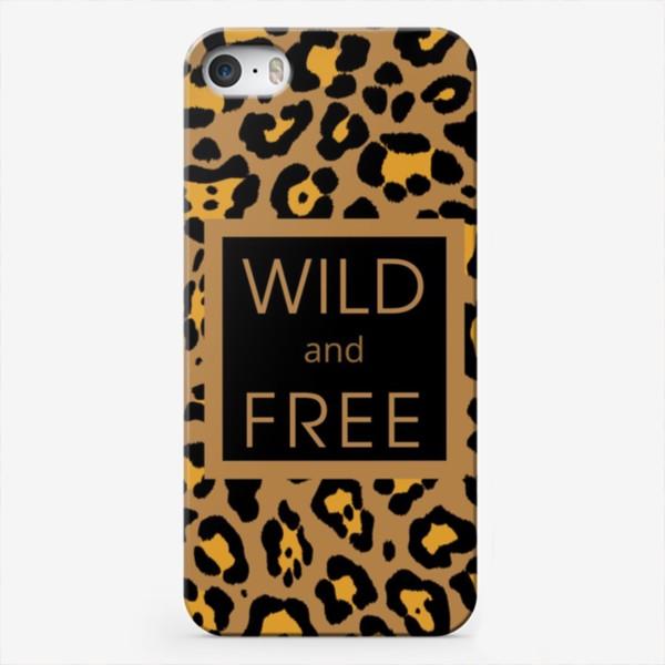 Чехол iPhone «Дикий и свободный»