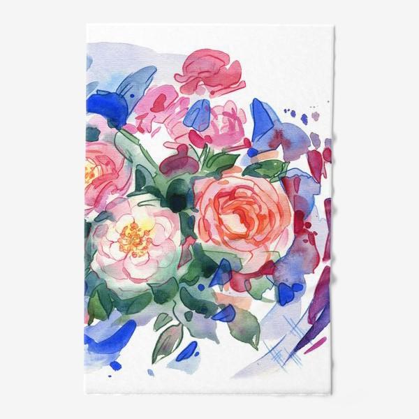 Полотенце «Цветочный принт»