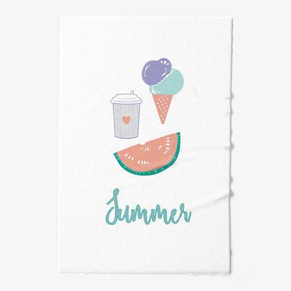 Полотенце «Summer food»