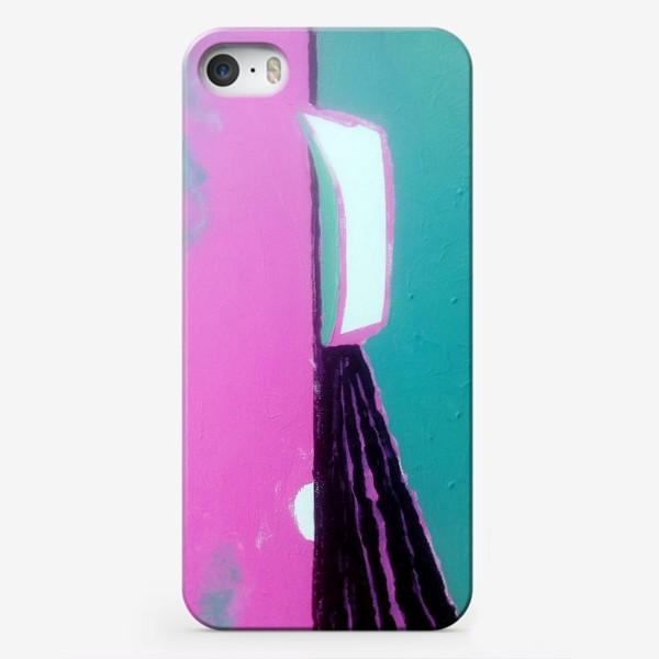 Чехол iPhone «pink лодка))»