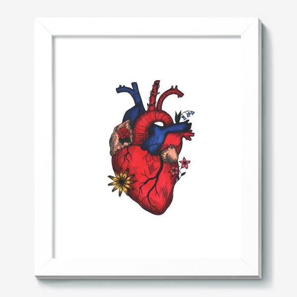 Картина «Цветущее сердце»