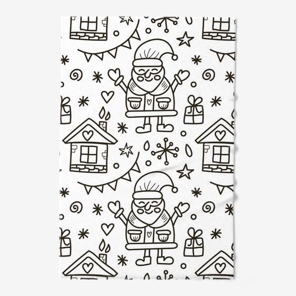 Полотенце «Санта»