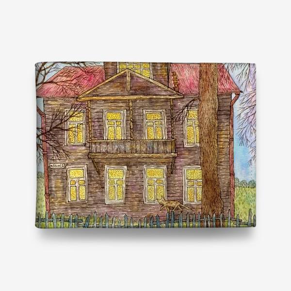 Кошелек «Осенний дом»