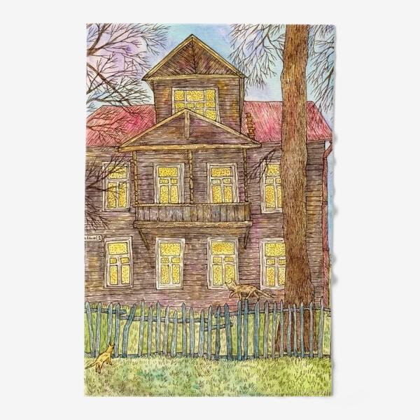 Полотенце «Осенний дом»