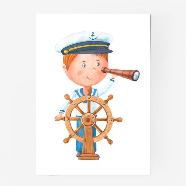 Постер «Маленький капитан.»