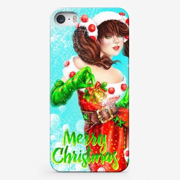 Чехол iPhone «Merry Cristmas»