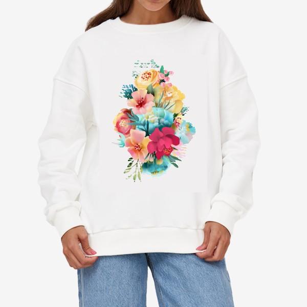 Свитшот «Цветы»