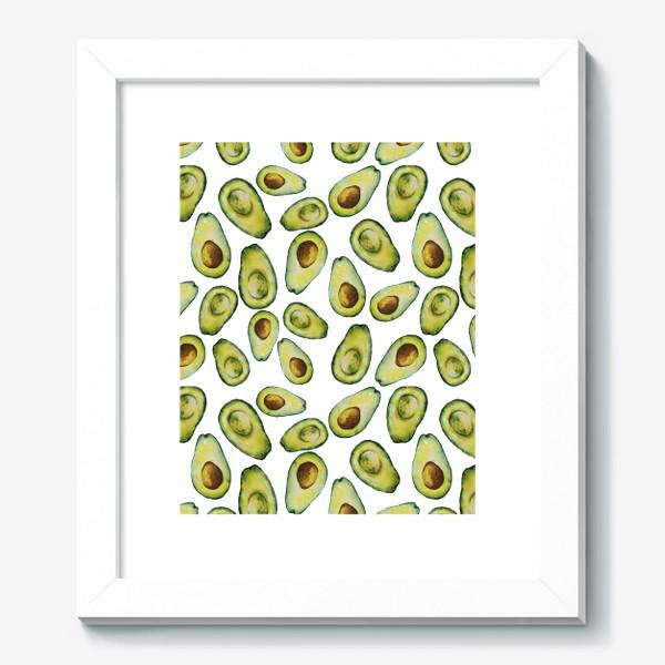 Картина «Акварельные авокадо»