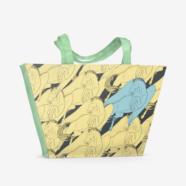 Пляжная сумка «Blue one»
