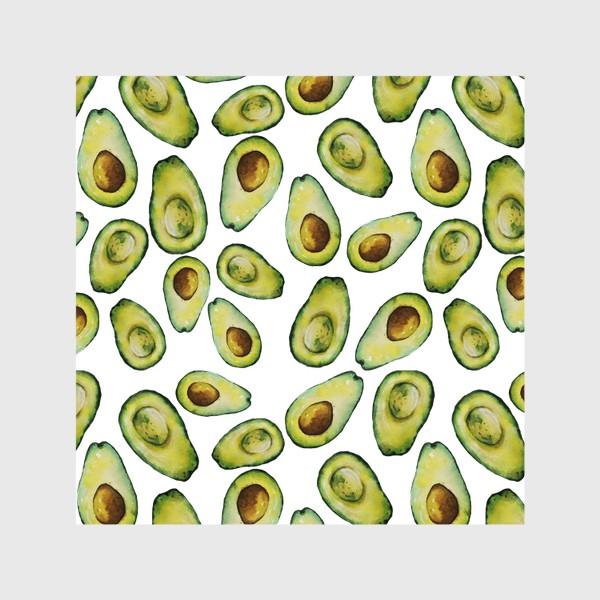 Шторы «Акварельные авокадо»