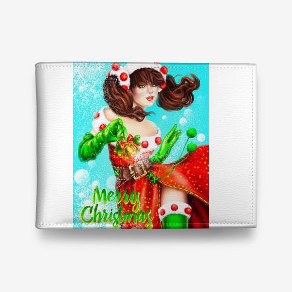 Кошелек «Merry Cristmas»