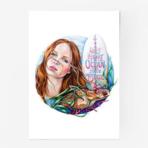Постер «Surfing dream»