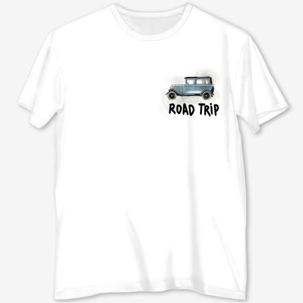 Футболка с полной запечаткой «ROAD TRIP»