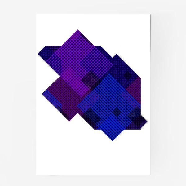 Постер «Космическая абстракция»