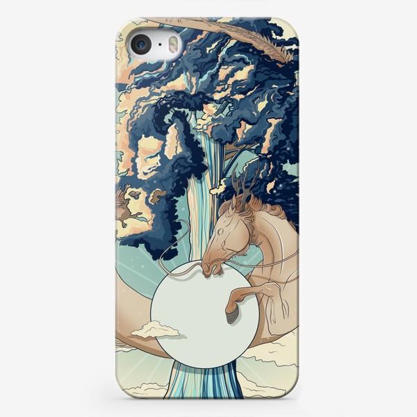 Чехол iPhone «Dragon horse»