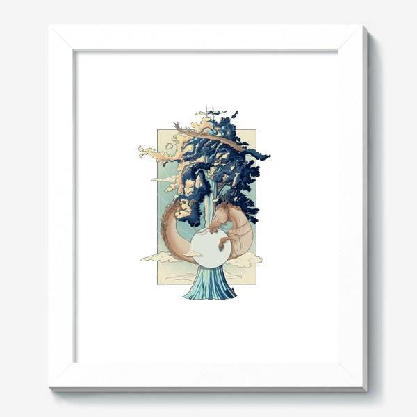 Картина «Dragon horse»