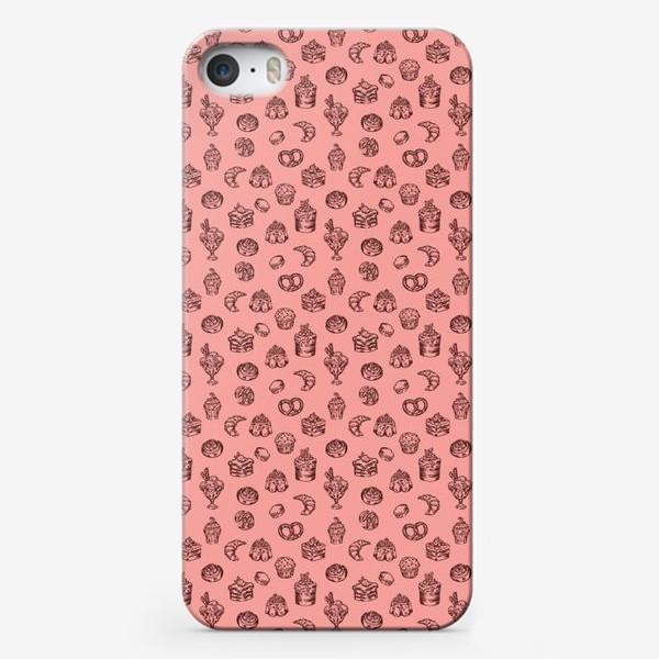 Чехол iPhone «Сладкий паттерн »