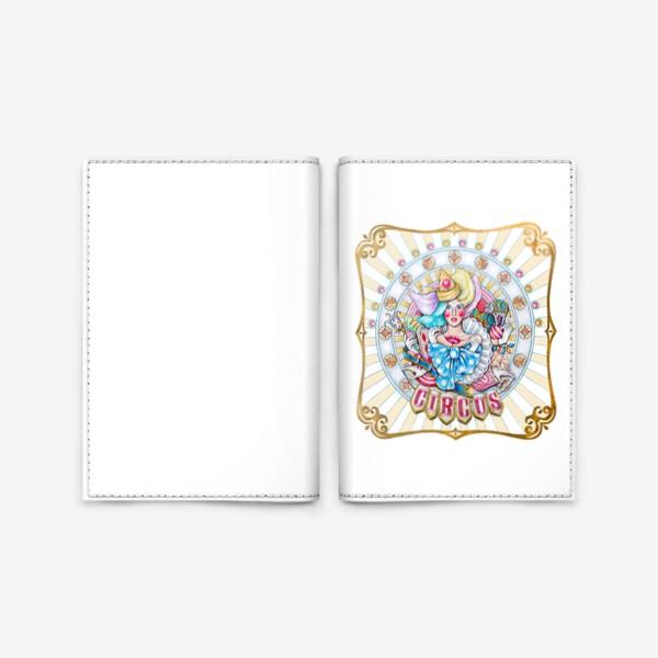 Обложка для паспорта «Circus»