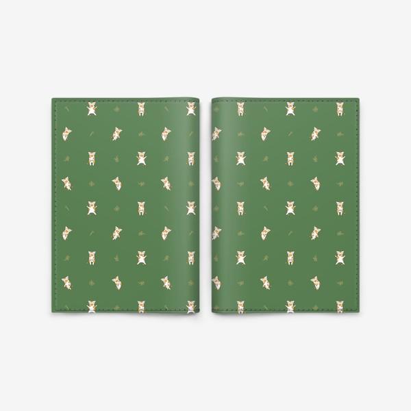 Обложка для паспорта «Сонные милые коровки»