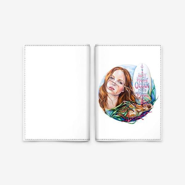 Обложка для паспорта «Surfing dream»
