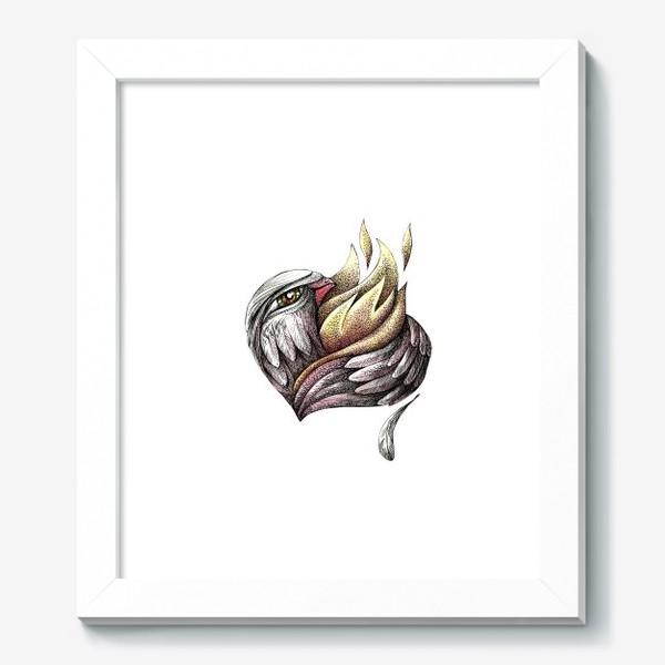 Картина «Пылающее сердце»