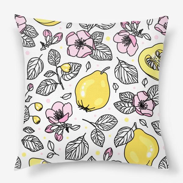 Подушка «Цветущая айва»