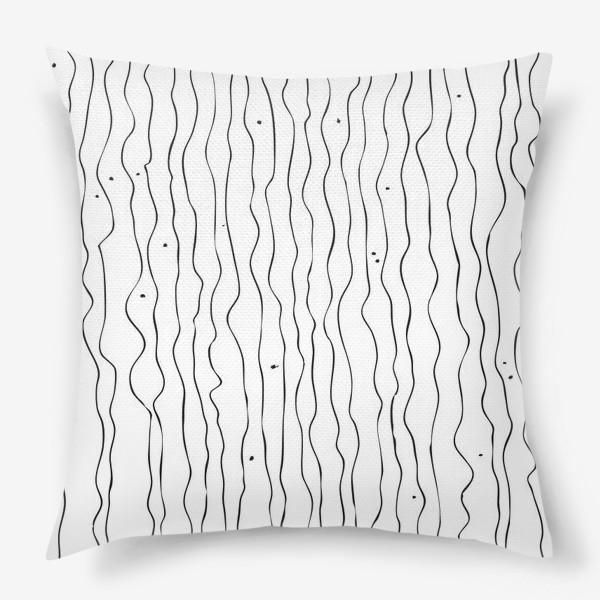 Подушка «Абстрактный рисунок»