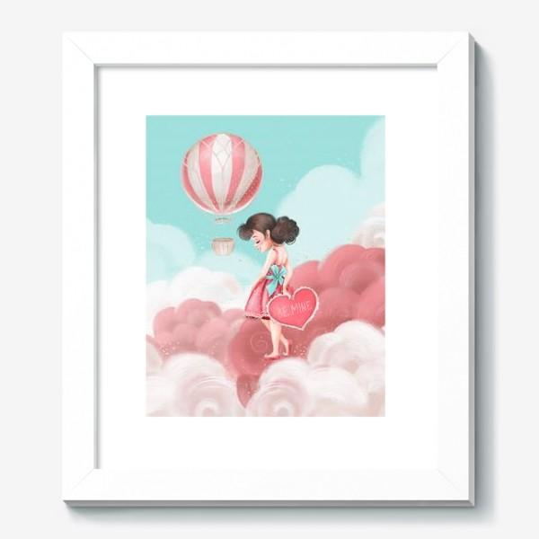 Картина «Любовь, девушка, воздушный шар»